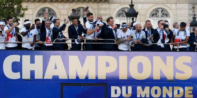 Mes Bleus à moi ne s'appellent pas Mbappé ou Griezmann, mais ils étaient les champions du monde dans...