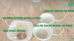 Voici comment fabriquer votre propre boisson fermentée, le kéfir de