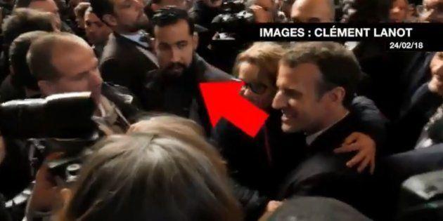 Alexandre Benalla accompagnait Macron au Salon de l'agriculture, ce journaliste a retrouvé les