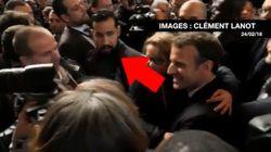 Ce journaliste a retrouvé les images de Benalla avec Macron au Salon de