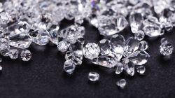 Il y a 1000 fois plus de diamants sous terre qu'on ne le