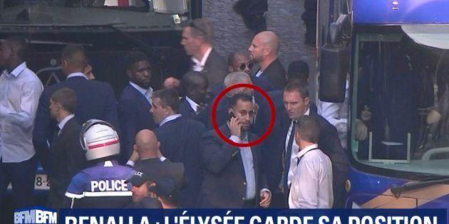 Alexandre Benalla accompagnait les Bleus sur les Champs-Élysées