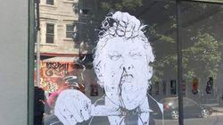 Une galerie d'art victime de cyber-harcèlement à cause d'une œuvre représentant le meurtre de