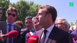 Les différentes techniques de Macron pour esquiver les questions gênantes sur l'affaire