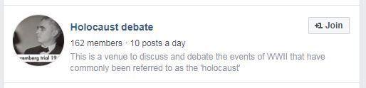 Sur Facebook, des groupes négationnistes en bonne place dans le moteur de