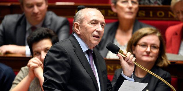 Gérard Collomb à l'Assemblée nationale en novembre