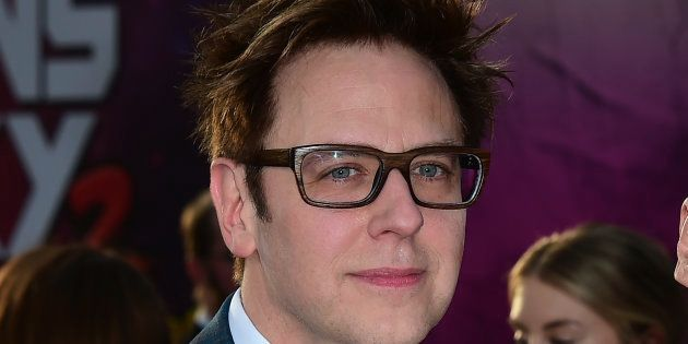 James Gunn à Hollywood à l'occasion de la sortie