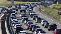 Circulation très dense sur les routes ce