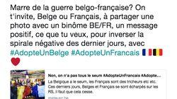 Avec #AdopteUnFrancais et #AdopteUnBelge, ils veulent faire la paix sur les réseaux