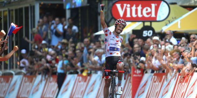 Julian Alaphilippe remporte l'étape 16 du Tour de France à