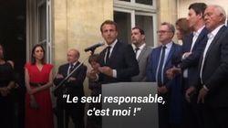 Affaire Benalla: Les images de la mise au point de Macron devant les élus