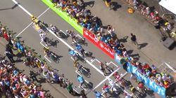 Vous n'avez jamais vu un départ pareil pendant le Tour de