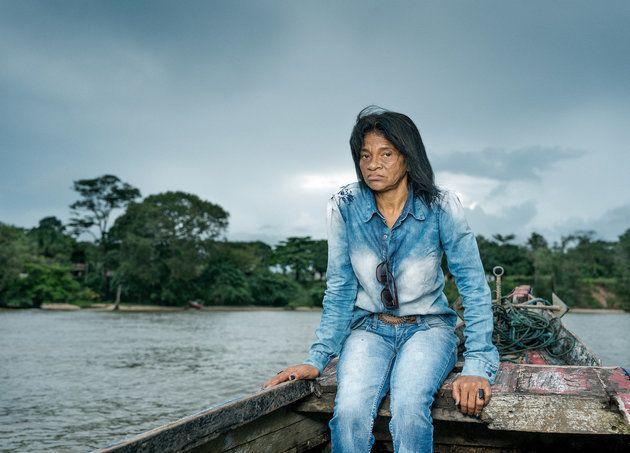 Maria do Socorro milite avec les communautés contre les usines d'aluminium, qui seraient responsables de la pollution de l'eau dans le village de Barcarena, au Brésil.