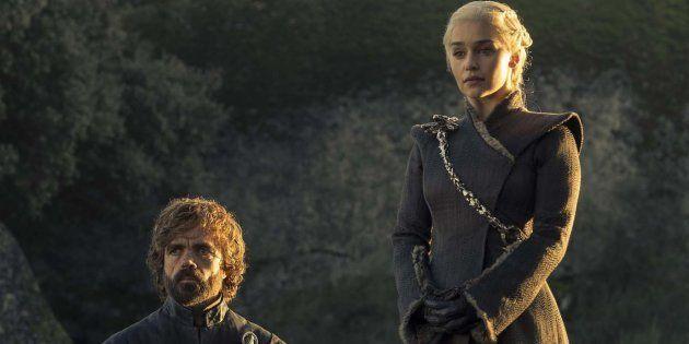 Daenerys (Emilia Clarke) et Tyrion (Peter Dinklage) dans la saison 7 de Game of