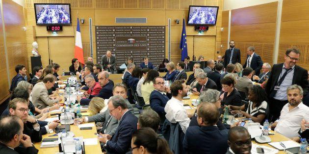 La Commission d'enquête parlementaire de l'Assemblée nationale, le 24 juillet