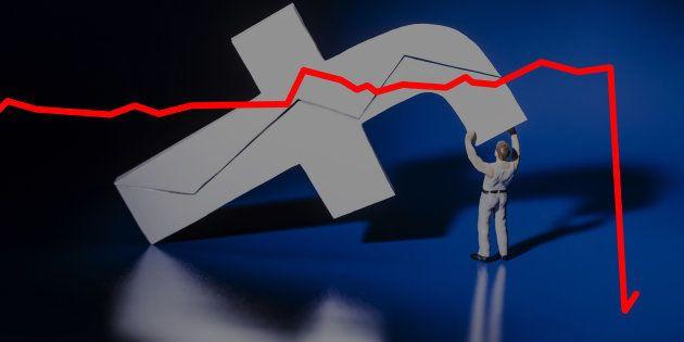 Facebook s'effondre en bourse et perd 100 milliards, plus que la valeur