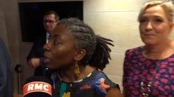 Non, Danièle Obono n'a pas invité Marine Le Pen à poser à côté d'elle devant les