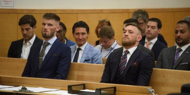 Cour Suprême de Brooklynn, 26 juillet 2018, Conor McGregor a plaidé