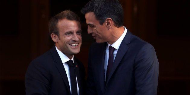 En Espagne, le retard d'Emmanuel Macron a fait