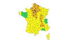 25 départements en vigilance orange aux orages et à la