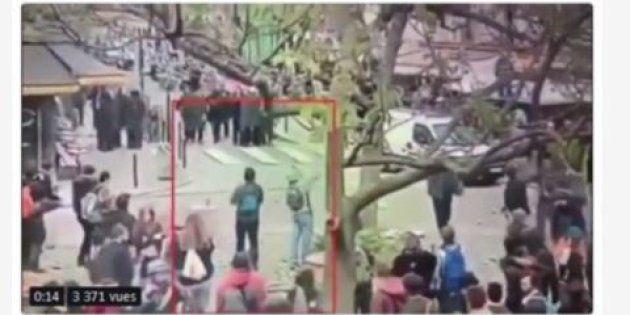Affaire Benalla: les images de vidéosurveillance de la Contrescarpe ont été diffusées sur