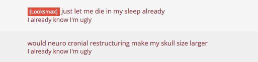 Eric poste souvent sur Lookism.net, généralement pour demander des conseils sur la façon d'améliorer...