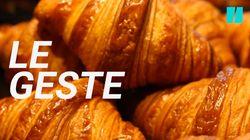 Pour faire de délicieux croissants, il faut déjà apprendre à les rouler comme un