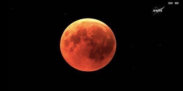 L'éclipse lunaire a fait de nombreux mécontents sur les réseaux