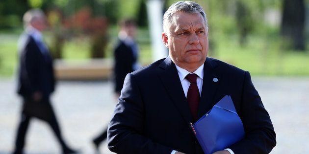 Le premier ministre hongrois, Viktor Orban, à Sofia, en Bulgarie, le 18