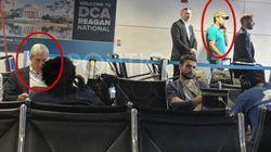 Cette photo de Donald Trump Jr coincé à l'aéroport à côté du procureur sur l'enquête russe a fait bien rire les