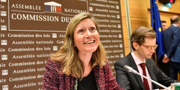Yaël Braun-Pivet à l'Assemblée nationale le 25 juillet