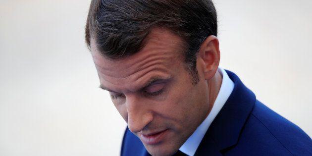 Emmanuel Macron le 14 juillet à