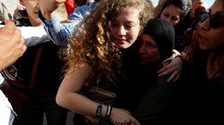 Libération d'une Palestinienne de 17 ans détenue pendant 8 mois pour avoir giflé des soldats