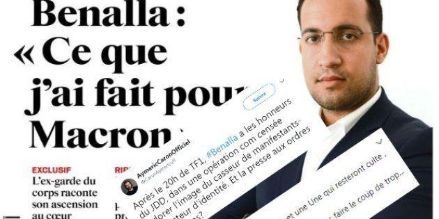 Alexandre Benalla: personnalités et anonymes indignés par la Une du JDD sur