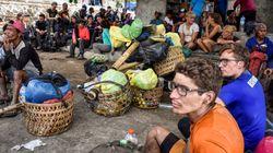 Plus de 500 randonneurs bloqués en altitude après un puissant séisme à Lombok en