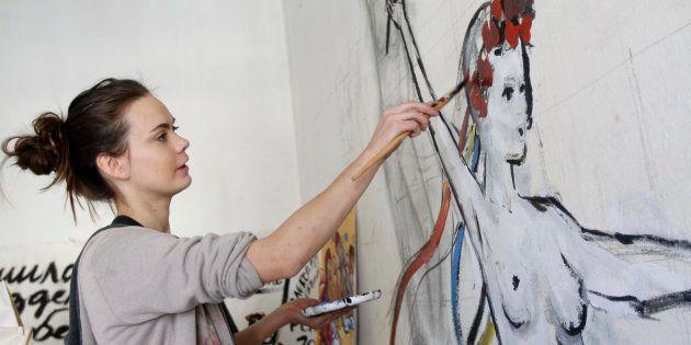 Oksana Chatchko était une vraie révolutionnaire, une âme pure, une artiste qui voulait transformer le