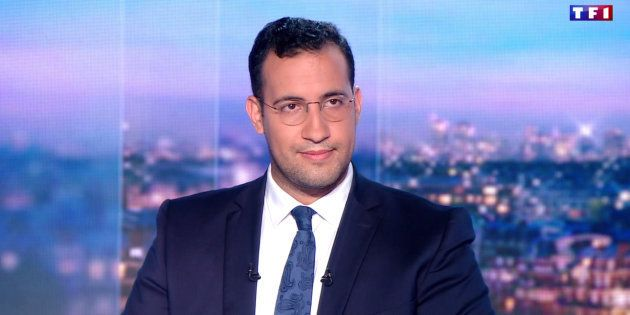 Extrait du passage d'Alexandre Benalla au journal de 20h de TF1, le 27 juillet
