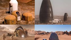 Voici à quoi pourraient ressembler les maisons sur Mars de la