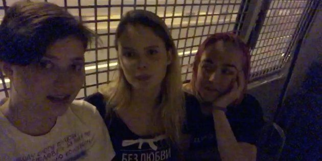 4 membres des Pussy Riot arrêtés sans explication immédiatement après leur