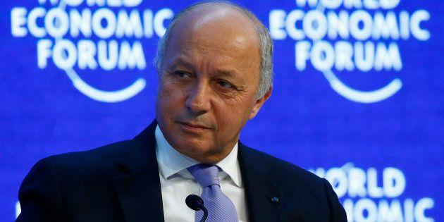 Laurent Fabius (ici à Davos en janvier 2016), ministre des Affaires étrangères pendant 4 ans, dit n'avoir...