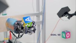 Pour être aussi agile, cette main robotique s'est entraînée pendant 100