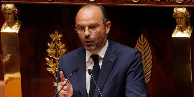 Philippe (ici le 31 juillet à l'Assemblée nationale) répond à l'opposition sur les motions de