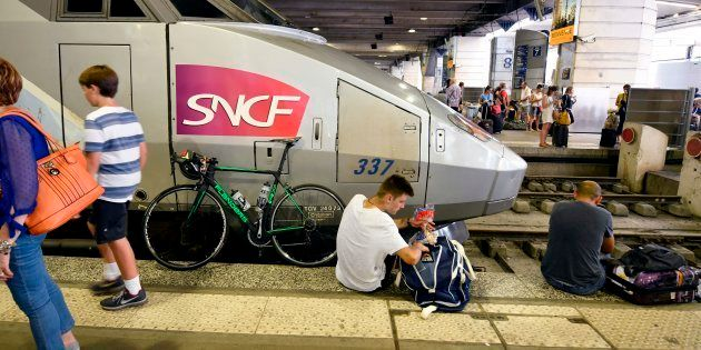 Montparnasse: la liste des 47 TGV supprimés au départ et à l'arrivée de la gare mercredi (photo d'illustration...
