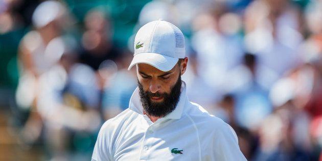 Benoit Paire lors du tournoi de Wimbledon, le 7 juillet