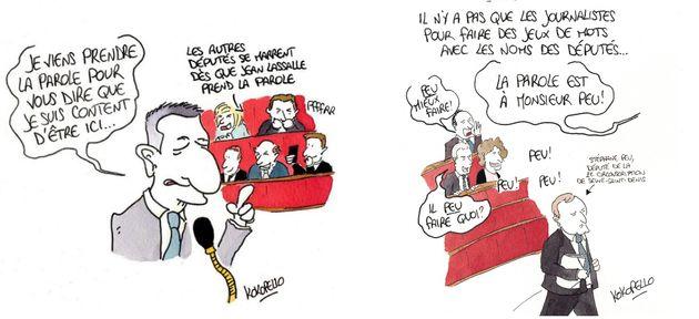 Festival d'Angoulême 2018: Quand les coulisses de l'Assemblée nationale s'exposent en