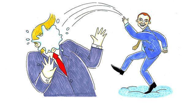 À Davos, la blague de Macron fera sans doute rire jaune