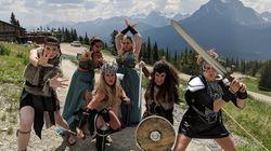 Ces demoiselles d'honneur se sont transformées en guerrières pour un enterrement de vie de jeune