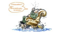 Crue de la Seine: Matignon en