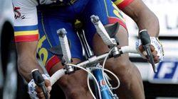 Le cycliste Armand de las Cuevas est
