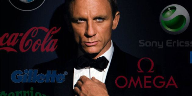 James Bond est le roi du placement de